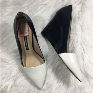 French Connection Pointed Toe Wedges